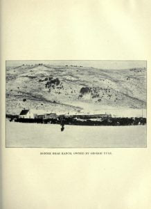 Bonnie Brae Ranch, owned by George Yule