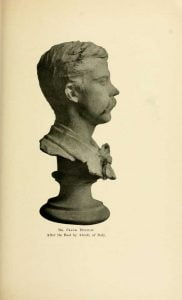 Bust of Mr. Frank Holman