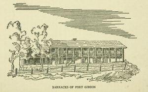 Barracks of Fort Gibson