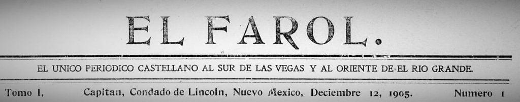 El Farol Masthead