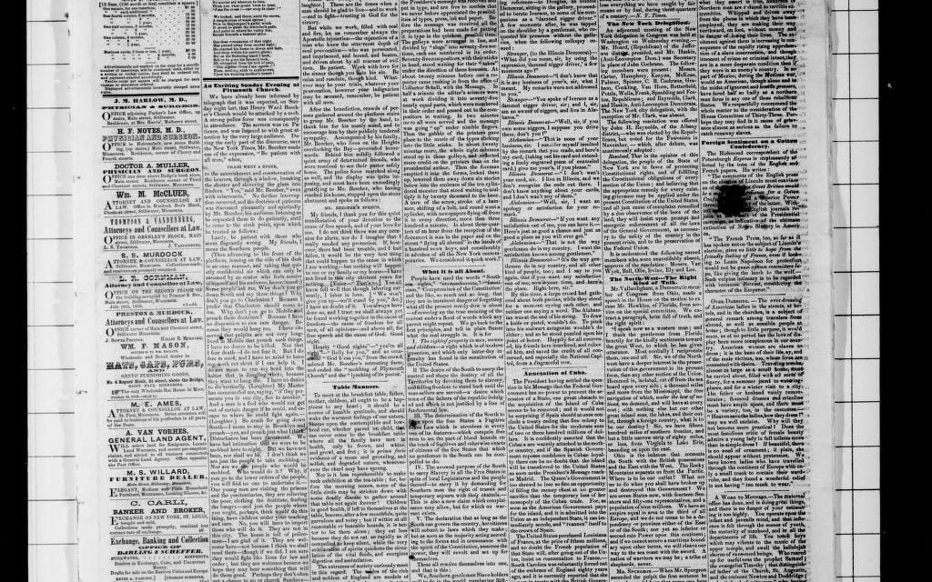The Stillwater Messenger, 1861-1874