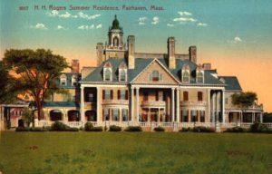 Henry Huttleston Rogers Summer Residence, Fairhaven, Mass