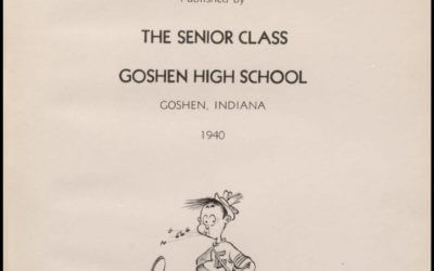 1909-2012 Goshen High School Yearbooks