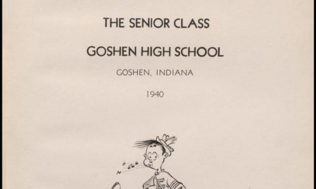 1909-2012 Goshen High School Yearbooks