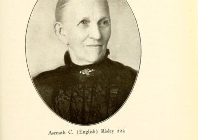 Asenath C. (English) Risley 223