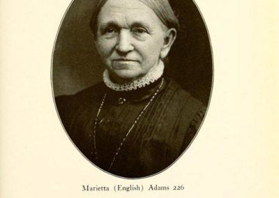 Marietta (English) Adams 226