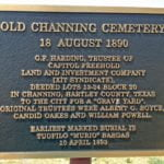 Hartley County Texas Cemeteries