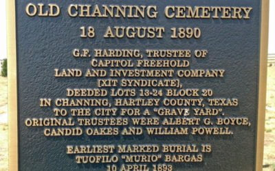 Hartley County Texas Cemeteries