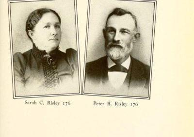Peter B. and Sarah C. Risley 176