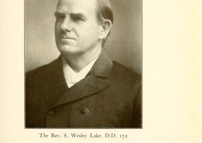 Rev. S. Wesley Lake, D.D. 172