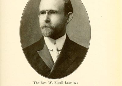 Rev. W. Elwell Lake 325