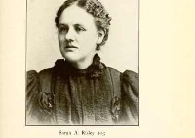Sarah A. Risley 303