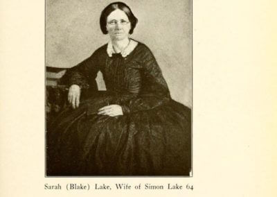Sarah (Blake) Lake, Wife of Simon Lake 64