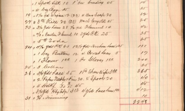 Scanned Ledgers from the Yarbrough Dry Goods Store