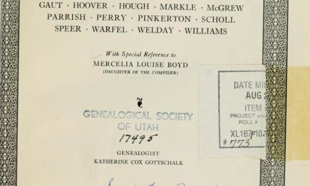 The Boyd Family of Mercelia Louise Boyd