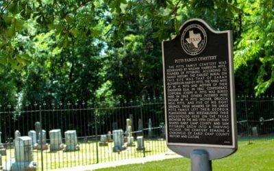 Camp County Texas Cemeteries